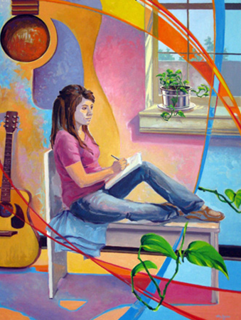 Guitar Muse by Tim Smith